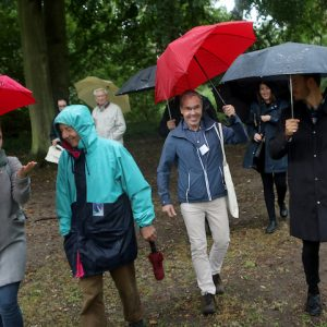 Generationen-Spaziergang In Neubrandenburg Am 26. August. 2020 Im Kulturpark
