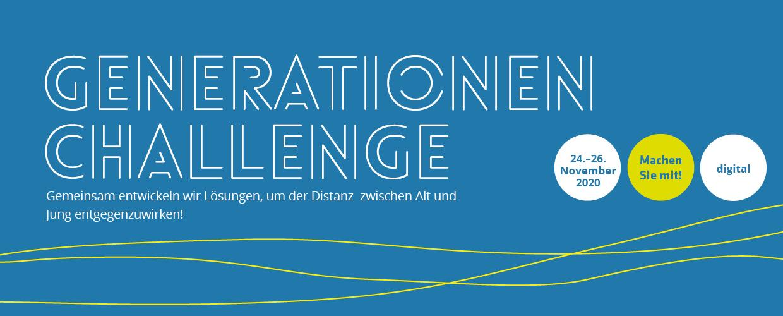 Generationen Challenge – Banner